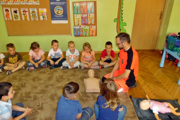 Pierwsza pomoc – warsztaty dla dzieci
