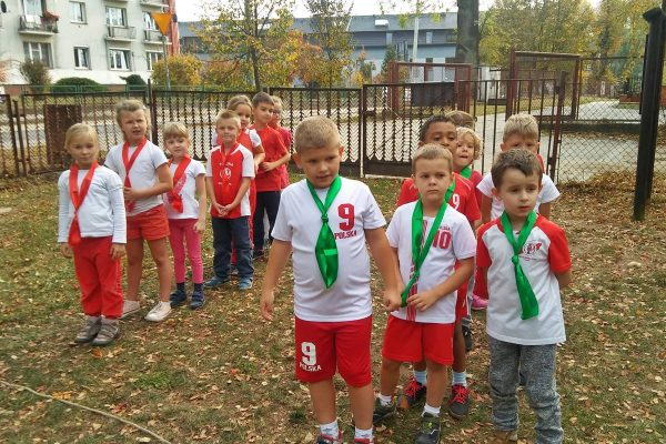 """Zawody sportowe pt. """"Biało-czerwoni"""""""