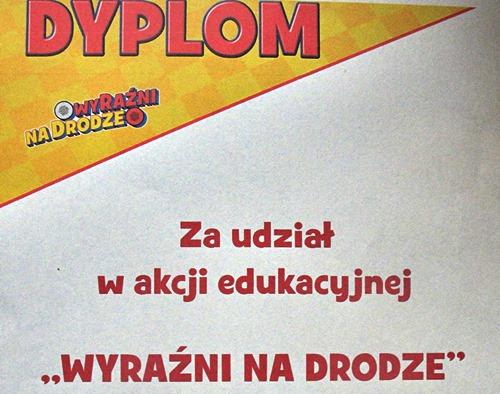 """""""WyRaźni na drodze"""" – gr. IV """"Żyrafki"""""""