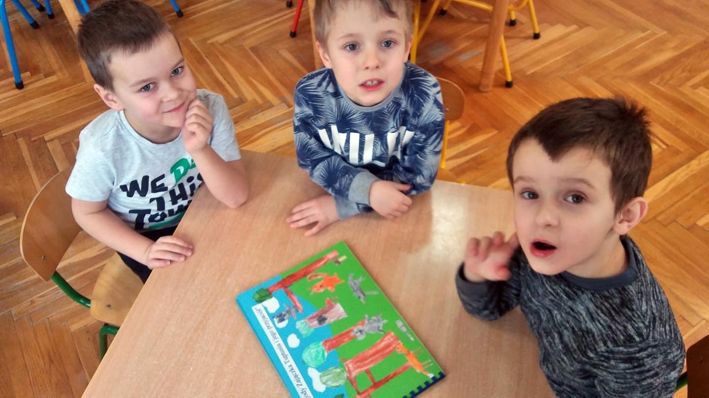 """V Konkurs dla przedszkolaków """"Ja też potrafię – dziecięcy świat wyobraźni w książeczce autorskiej"""""""