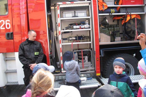 Wycieczka do Straży Pożarnej w Namysłowie