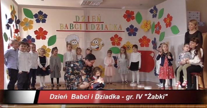 """Dzień Babci i Dziadka w gr. IV """"Żabki"""""""