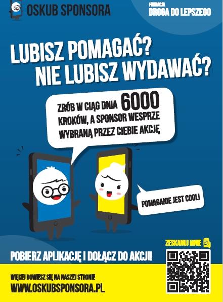 """OSKUB SPONSORA – rywalizacja """"Oczyszczacze dla szkół"""""""