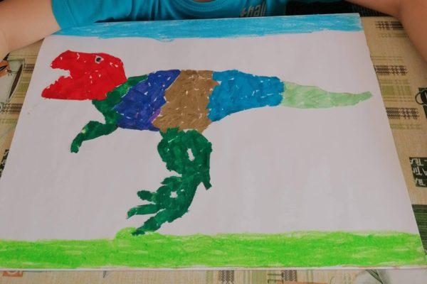 """""""Zwierzęta sprzed milionów lat"""" – gr. VI """"Żyrafki"""""""